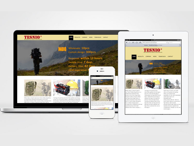 SEO, Html5, Responsive, Multilingual Website Design, HB-B2BW